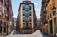 Bilbao, Spain: The Old Centre ...