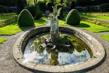 Victorian Garden Design . Farmleigh Sunken Garden In Phoenix Park/