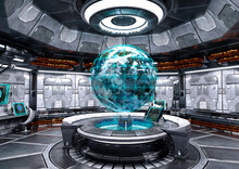 3D Rendering Science Fiction S...