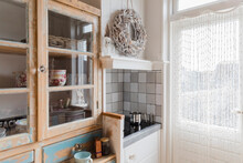 Kitchen In Shabby Chic Style -...