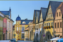 Street In Ustek, Czech Republic