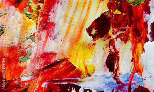 Fototapeta  Color texture. Hand drawn.Abstract art background. Hand drawn .Oil painting on canvas.   Modern, contemporary art. Colorful canvas. Wall decor background obraz