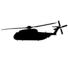 Heli Sikorsky CH-53 Marines Military Helicopter Air Force Army Navy Military Aircraft, HEER Military Helicopters Germany Army. Silhouette