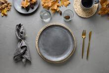 Autumn Festive Table Setting W...