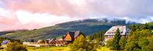 Snezka View From Pomezni Huts