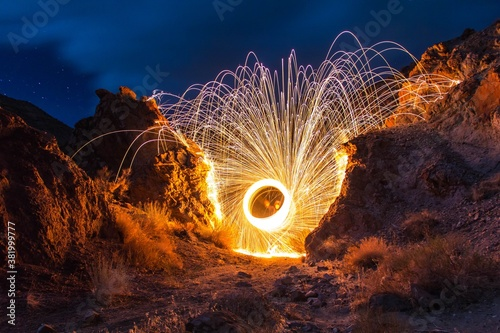 Valokuvatapetti fire