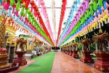 Colorful Paper Lanterns Lanna ...