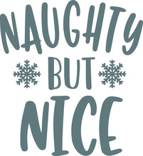 Naughty But Nice Logo Sign Ins...