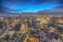 Bangkok Thailand, Night City S...
