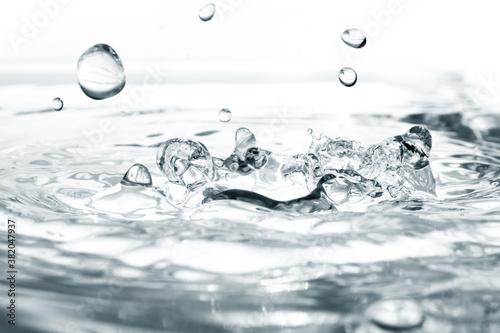 Fotografie, Obraz Water splashing background