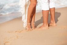 Brides Feet With Beautiful Jew...