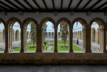 Cloister Of The Convent Of San...