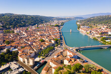 General View Of Vienne City On...