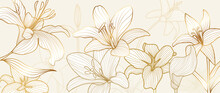 Luxury Vintage Floral Line Art...