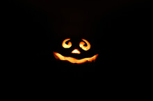 Glowing Smiling Face Halloween...