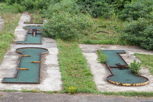 Abandoned Mini Golf Course In ...