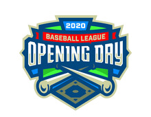 Baseball Opening Day Logo