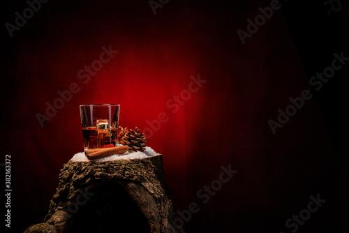 Fotografie, Obraz Whiskeyglas