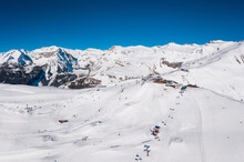 Aerial View Of The Crans-monta...