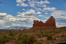 Arches National Park Mountains...