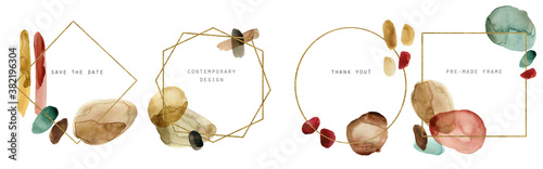 Cuadros en Lienzo Abstract modern frames set