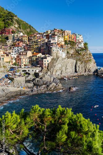 Fototapety, obrazy: Manarola, Cinque Terre, Italy