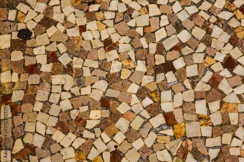 Fotografering A patern on a tile floor