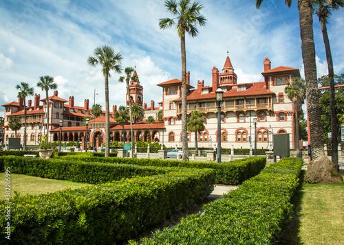 Obraz na plátně St Augustine, Florida - 2/26/2018:  Flagler College