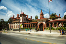 St Augustine, Florida - 2/26/2018:  Flagler College.  It Is A Private Four-year Liberal Arts College In St. Augustine, Florida. It Was Founded In 1968.
