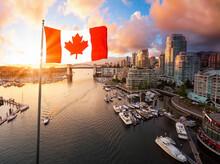 Canadian National Flag Overlay...