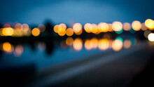 Blurred Lights In The City By ...