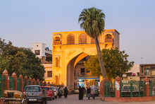 Gate In The Old City, Lucknow, Uttar Pradesh, India