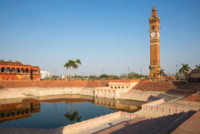 Hussainabad Pond And Clock Tower, Lucknow, Uttar Pradesh, India