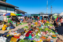 Open Air Market Of Mindat, Chi...