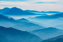 Hazy Picturesque Highlands Of ...
