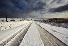 A Snowy Winter's Day On Exmoor...