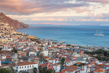 View Of City, Funchal, Madeira...