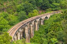 Nine Arches Bridge, Ella, Uva Province, Sri Lanka