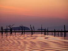 Sunset Over Lake Kariba, The W...