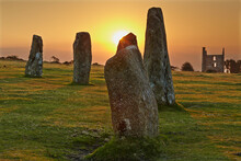 Sunrise Over Standing Stones A...