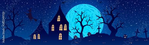Photo Vector illustration of halloween