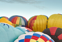 Flurry Of Hot Air Balloons Tak...