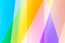 Multi Colored Transparent Stri...