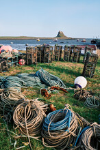 Fishing Rope And Equipment In ...
