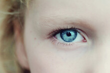 A Child's Blue Eye