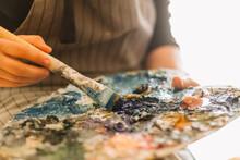 Artist's Paint Palette, Artist...
