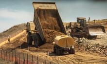A Very Large Haul Dump Truck A...