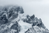 Mountain summit in Torres del Paine, Patagonia, Chile