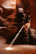 Sunbeam Inside Antelope Canyon...