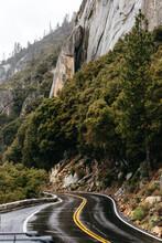 A Tunnel Heading Into Yosemite